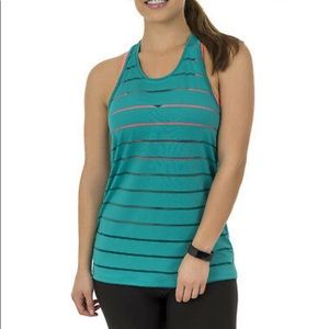 Athletic Works racerback tank top turquoise green
